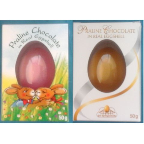 Easter treats are selling out fast safka continental goodies amazing golden or pastel painted praline easter eggs in real eggshell these are not your ordinary hollow eggs but filled with delicious chocolate praline negle Gallery