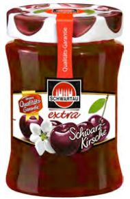 Schwartau Black Cherry Jam