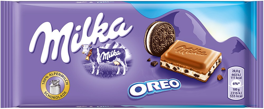 Milka & Oreo Milk Chocolate 100g - Safka Continental