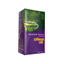 Löfbergs Lila Medium Roast Ground Coffee 500g