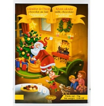 Cemoi Chocolate Advent Calendar Santa & Tree