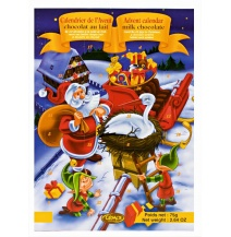 Cemoi Chocolate Advent Calendar Santa & Stork