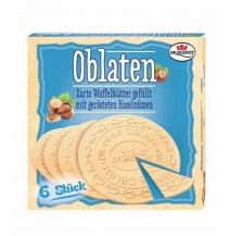 Dr Quendt Oblaten Wafers Hazelnut & Butter