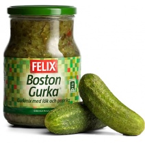 Felix Pickled Gherkin Relish