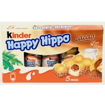 Kinder Happy Hippo Cocoa 5-pack