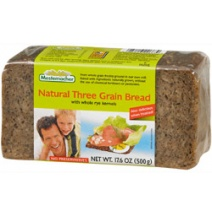 Mestemacher Organic Three Grain Bread 500g