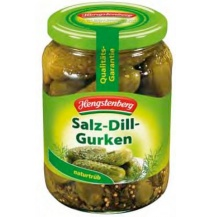 Hengstenberg Salted Dill Gherkins Pickles