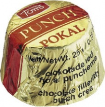 Toms Arrack Punch Cremel Dark Chocolate (Single)