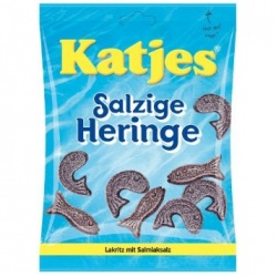 Katjes Salty Herrings Licorice