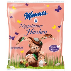Manner Neapolitan Chocolate Bunnies