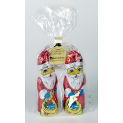 Hauswirth Sugar Free Chocolate Santas in Bag